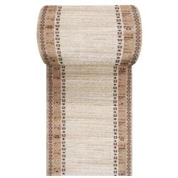 Brązowy chodnik dywanowy Fantazja 05 - szerokość od 60 do 120 cm