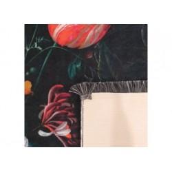 Horeca 19 czarny kwiaty